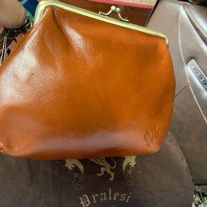 Patricia Nash Savena Leather Wristlet Clutch